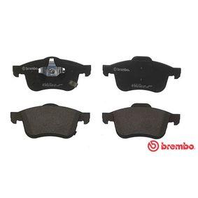 68211488AA für FIAT, Bremsbelagsatz, Scheibenbremse BREMBO (P 23 167) Online-Shop