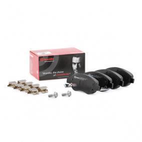 77368553 für FIAT, Bremsbelagsatz, Scheibenbremse BREMBO (P 23 178) Online-Shop