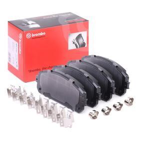 Bremsbelagsatz, Scheibenbremse BREMBO Art.No - P 37 021 kaufen