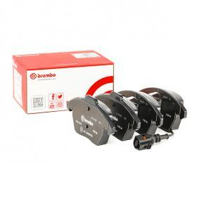 3C0698151A für VW, AUDI, SKODA, SEAT, PORSCHE, Bremsbelagsatz, Scheibenbremse BREMBO (P 85 146) Online-Shop