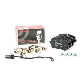 9A769845100 pour VOLKSWAGEN, AUDI, PORSCHE, SATURN, Kit de plaquettes de frein, frein à disque BREMBO (P 85 150) Boutique en ligne