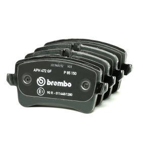 BREMBO Kit de plaquettes de frein, frein à disque (P 85 150) à bas prix