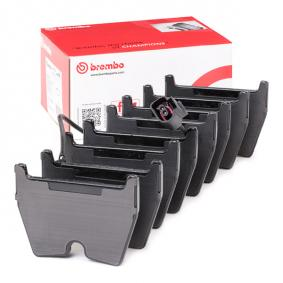 8U0698151J pour VOLKSWAGEN, AUDI, SEAT, SKODA, Kit de plaquettes de frein, frein à disque BREMBO (P 85 152) Boutique en ligne