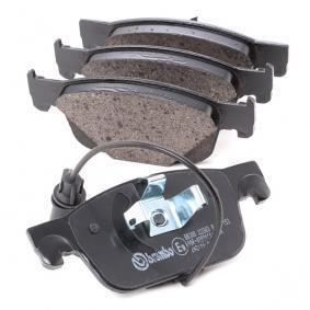 BREMBO P 85 153 Kit de plaquettes de frein, frein à disque OEM - 8W0698151Q AUDI, SEAT, SKODA, VW, VAG, OEMparts à bon prix