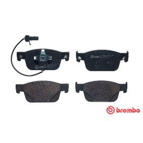 BREMBO Kit de plaquettes de frein, frein à disque P 85 153
