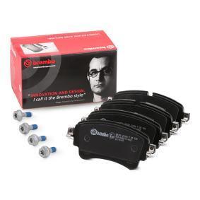 8W0698451N pour VOLKSWAGEN, AUDI, SEAT, SKODA, Kit de plaquettes de frein, frein à disque BREMBO (P 85 154) Boutique en ligne