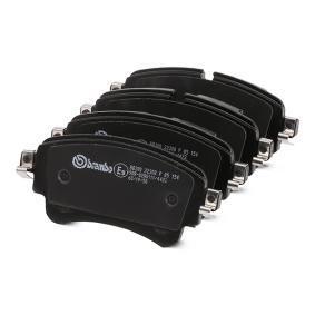 BREMBO P 85 154 Kit de plaquettes de frein, frein à disque OEM - 8W0698451N AUDI, SEAT, SKODA, VW, VAG, AUDI (FAW) à bon prix