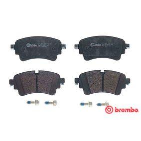 BREMBO Kit de plaquettes de frein, frein à disque P 85 154
