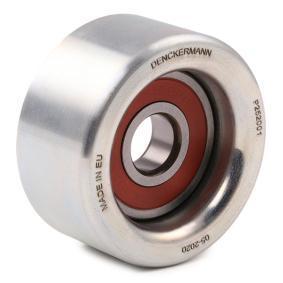 DENCKERMANN Tensioner pulley, v-ribbed belt P252001