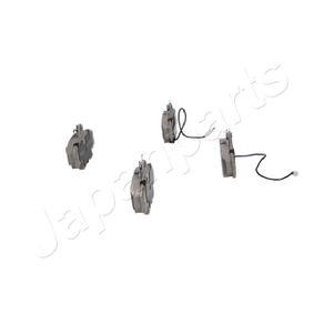 7701206082 für RENAULT, DACIA, LADA, SANTANA, RENAULT TRUCKS, Bremsbelagsatz, Scheibenbremse JAPANPARTS (PA-0037AF) Online-Shop
