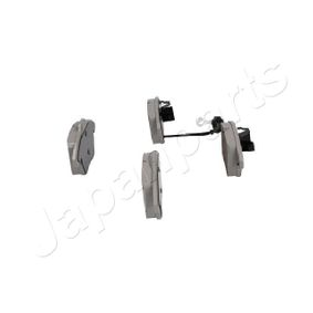 JAPANPARTS Bremsbelagsatz, Scheibenbremse 3C0698151A für VW, AUDI, SKODA, SEAT, PORSCHE bestellen