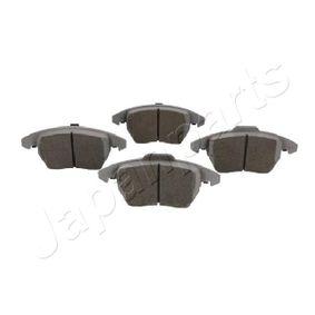 Bremsbelagsatz, Scheibenbremse JAPANPARTS Art.No - PA-0047AF OEM: 5K0698151 für VW, AUDI, SKODA, PEUGEOT, NISSAN kaufen