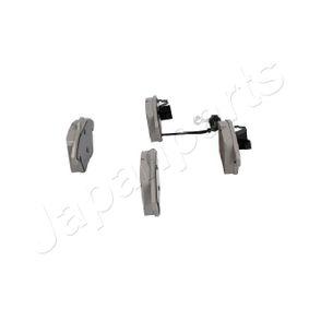 JAPANPARTS Bremsbelagsatz, Scheibenbremse 5K0698151 für VW, AUDI, SKODA, PEUGEOT, NISSAN bestellen