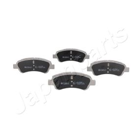 Brake Pad Set, disc brake JAPANPARTS Art.No - PA-0051AF OEM: E172124 for PEUGEOT, CITROЁN, DS, PIAGGIO, TVR buy