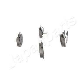 7701203070 für RENAULT, RENAULT TRUCKS, Bremsbelagsatz, Scheibenbremse JAPANPARTS (PA-0081AF) Online-Shop