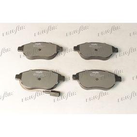 Bremsbelagsatz, Scheibenbremse FRIGAIR Art.No - PD04.509 OEM: 77365623 für FIAT, ALFA ROMEO, LANCIA, ABARTH kaufen