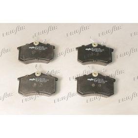 Bremseklodser FRIGAIR Art.No - PD10.502 OEM: 1343514 til FORD, CHRYSLER, RENAULT TRUCKS erhverv