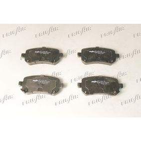 Bremsbelagsatz, Scheibenbremse FRIGAIR Art.No - PD18.508 OEM: 68029887AA für MERCEDES-BENZ, FIAT, ALFA ROMEO, JEEP, CHRYSLER kaufen