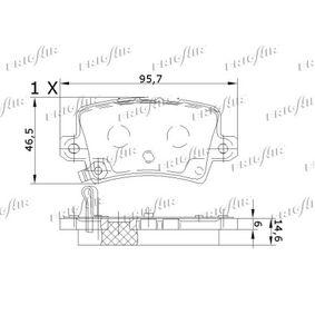 FRIGAIR Brake pads PD19.504