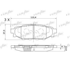 Bremsbelagsatz PD24.502 FRIGAIR
