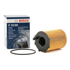 BOSCH Filtro de óleo Cartucho filtrante P9238, F026408887 conhecimento especializado