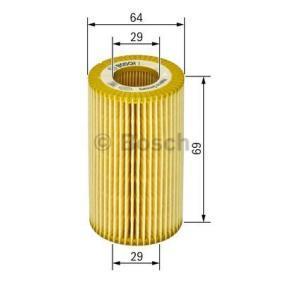 BOSCH Filtro recirculación de gases (1 457 429 249)