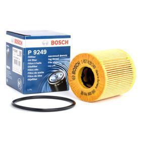 BOSCH Filtro de óleo Cartucho filtrante P9249, OFPEU5 conhecimento especializado