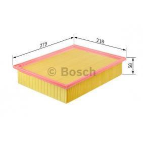Luftfilter BOSCH Art.No - 1 457 433 747 OEM: 074129620 für VW, AUDI, SKODA, SEAT, PORSCHE kaufen