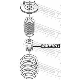 Almohadilla de tope suspensión & guardapolvos amortiguador PGD-407F FEBEST