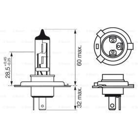 BOSCH MAZDA 323 Fernscheinwerfer Glühlampe (1 987 302 041)