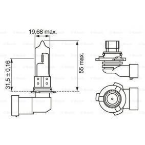 Крушка с нагреваема жичка, фар за дълги светлини 1 987 302 152 онлайн магазин