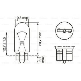BOSCH Combination rearlight bulb (1 987 302 206)