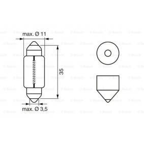 1 987 302 211 Bulb from BOSCH quality parts
