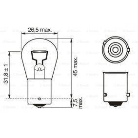 BOSCH Bulb, indicator 1 987 302 213