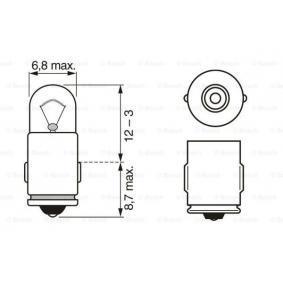 BOSCH Glühlampe N072601012110 für MERCEDES-BENZ, SMART bestellen