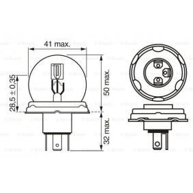 Bulb, spotlight (1 987 302 421) from BOSCH buy