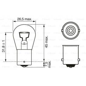 Bulb, indicator 1 987 302 501 online shop
