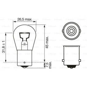 Bulb, indicator 1 987 302 501 online shop