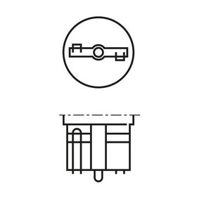 Крушка с нагреваема жичка, светлини за парк / позициониране (1 987 302 518) от BOSCH купете