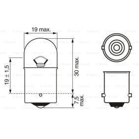 1 987 302 605 Крушка с нагреваема жичка от BOSCH качествени части