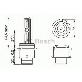 VW PASSAT 1.9 TDI 130 PS ab Baujahr 11.2000 - Hauptscheinwerfer Glühlampe (1 987 302 904) BOSCH Shop
