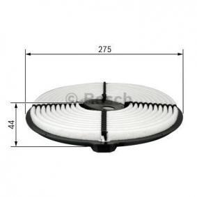 BOSCH Luftfilter 1654677A10 für NISSAN, INFINITI bestellen