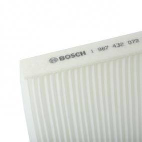 Air conditioner filter 1 987 432 072 BOSCH