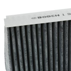 BOSCH Filter, Innenraumluft 1H0091800 für VW, AUDI, SKODA, SEAT, PORSCHE bestellen