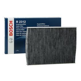 Filter, Innenraumluft BOSCH Art.No - 1 987 432 312 OEM: 1HO091800 für VW, AUDI, SKODA, SEAT, CUPRA kaufen
