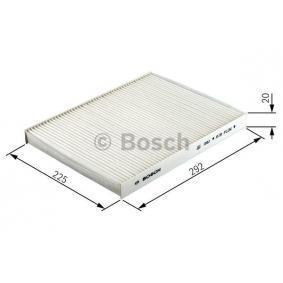 BOSCH 1 987 432 360 Filter, Innenraumluft OEM - 512024302 ALFA ROMEO, FIAT, LANCIA, ALFAROME/FIAT/LANCI günstig