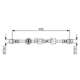 BOSCH 1 987 476 170 Bremsschlauch OEM - 7M0611776C AUDI, FORD, SEAT, SKODA, VW, VAG, FIAT / LANCIA, A.B.S. günstig