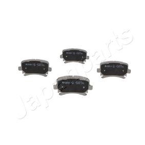 Bremsbelagsatz, Scheibenbremse JAPANPARTS Art.No - PP-0007AF OEM: 3C0698451C für VW, AUDI, SKODA, SEAT kaufen