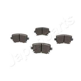 JAPANPARTS Bremsbelagsatz, Scheibenbremse 1K0698451D für VW, AUDI, FORD, SKODA, SEAT bestellen