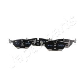 Bremsbelagsatz, Scheibenbremse JAPANPARTS Art.No - PP-0009AF OEM: 34211164501 für BMW, CITROЁN, MINI, ROVER, MG kaufen